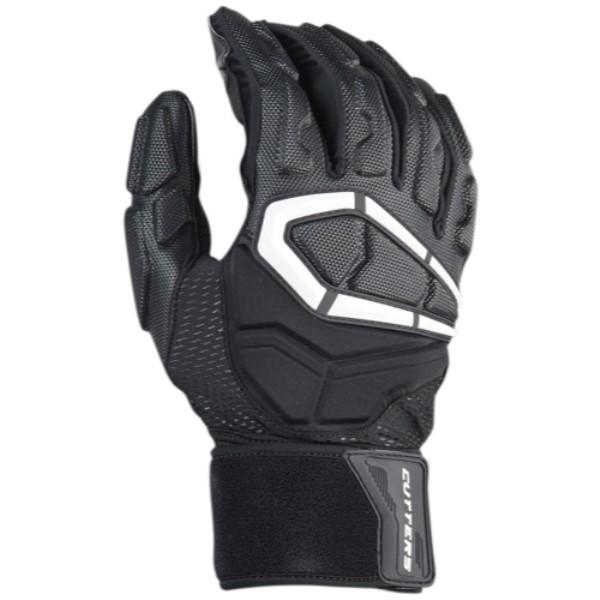 カッターズ メンズ アメリカンフットボール グローブ【Force 3.0 Lineman Football Gloves】Black