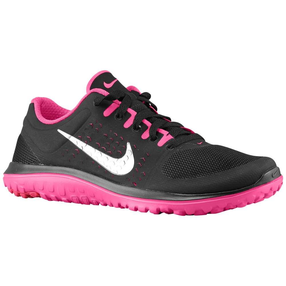 ナイキ レディース ランニング・ウォーキング シューズ・靴【FS Lite Run】Black/Vivid Pink/Metallic Silver