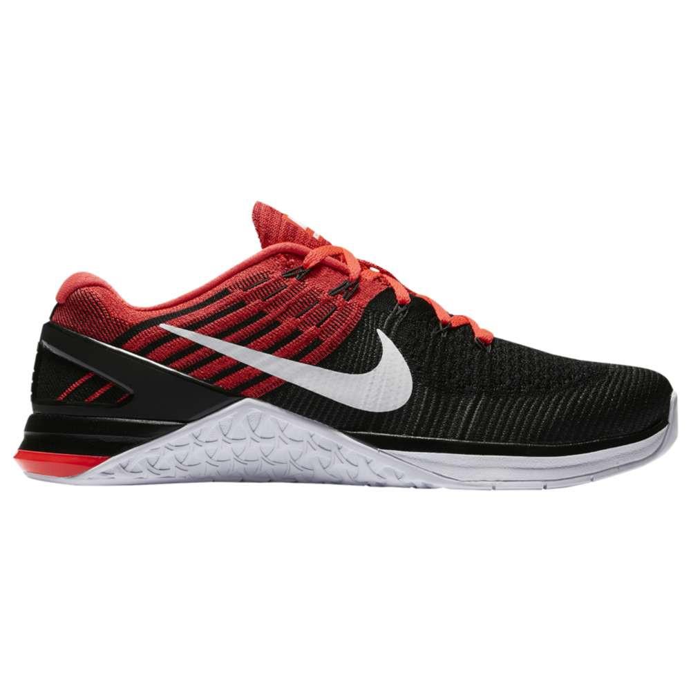 ナイキ メンズ フィットネス・トレーニング シューズ・靴【Metcon DSX Flyknit】Black/White/Bright Crimson/Gym Red