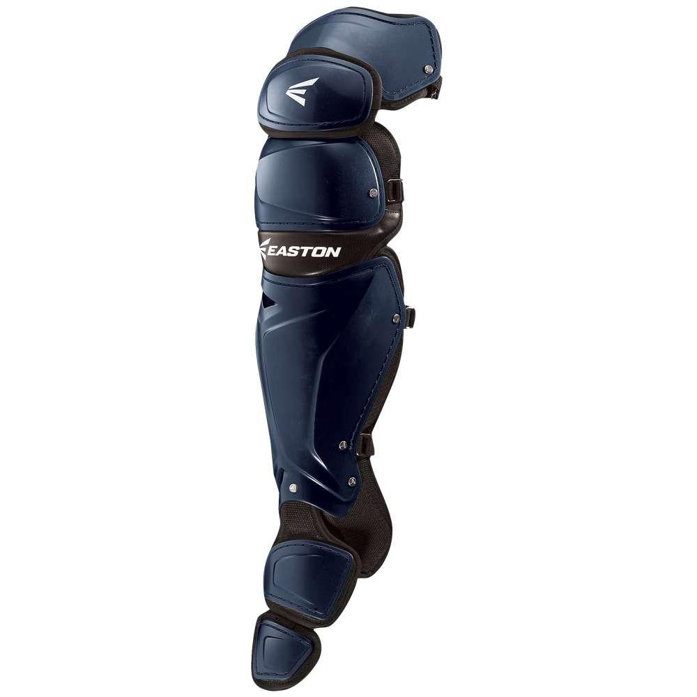 イーストン メンズ 野球 プロテクター【Mako Leg Guards】Navy
