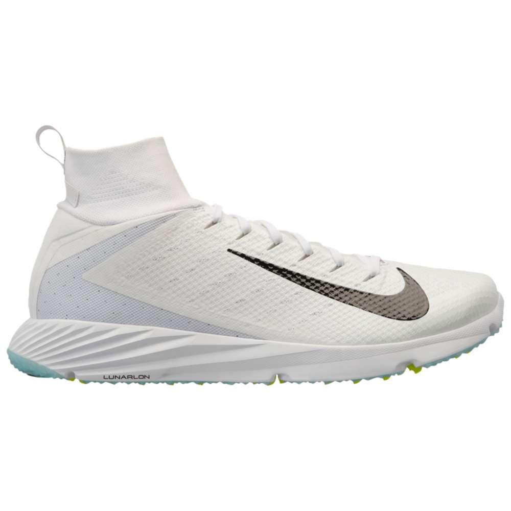 ナイキ メンズ アメリカンフットボール シューズ・靴【Vapor Untouchable Speed Turf 2】White/Black/Volt