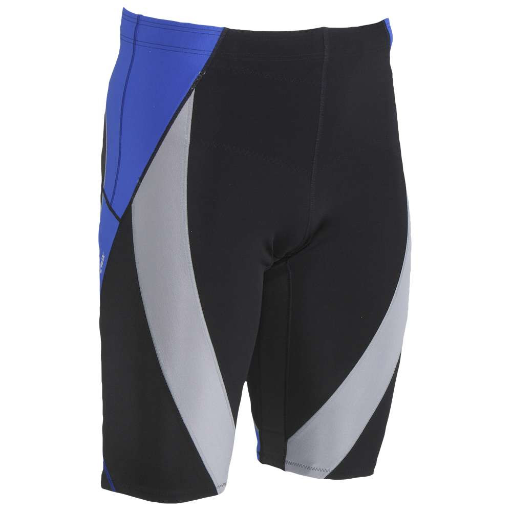 シーダブリュー エックス メンズ ランニング・ウォーキング ボトムス・パンツ【Endurance Generator Shorts】Black/Grey/Blue Stitch