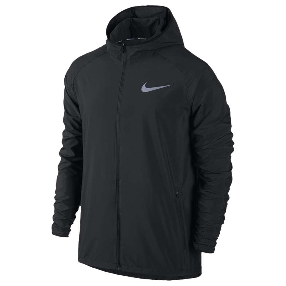 ナイキ メンズ ランニング・ウォーキング アウター【Dri-FIT Essential Jacket】Black