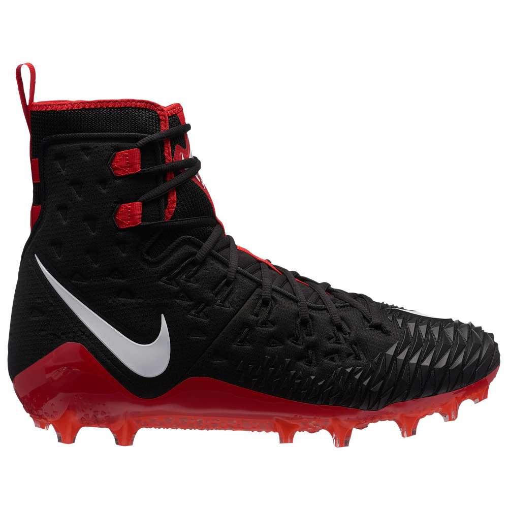 ナイキ メンズ アメリカンフットボール シューズ・靴【Zoom Force Savage Elite TD】Black/White/University Red/Toal Crimson