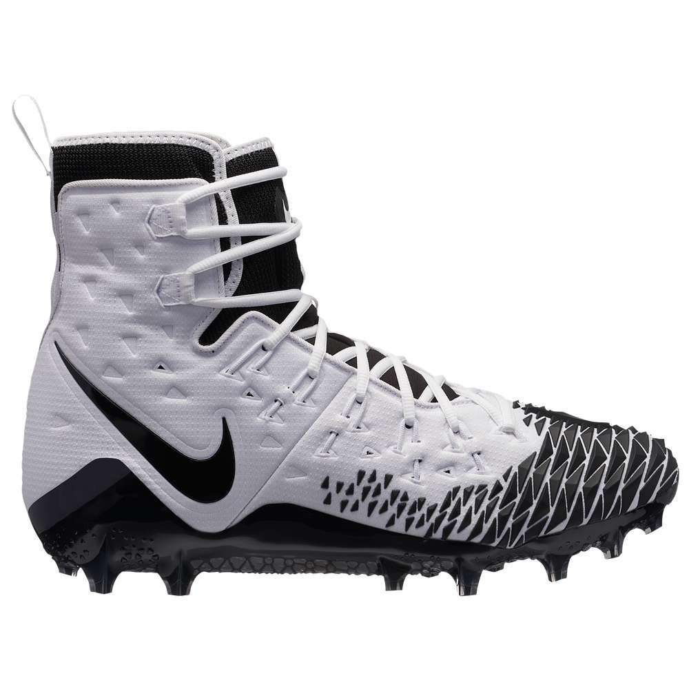 ナイキ メンズ アメリカンフットボール シューズ・靴【Zoom Force Savage Elite TD】White/Black