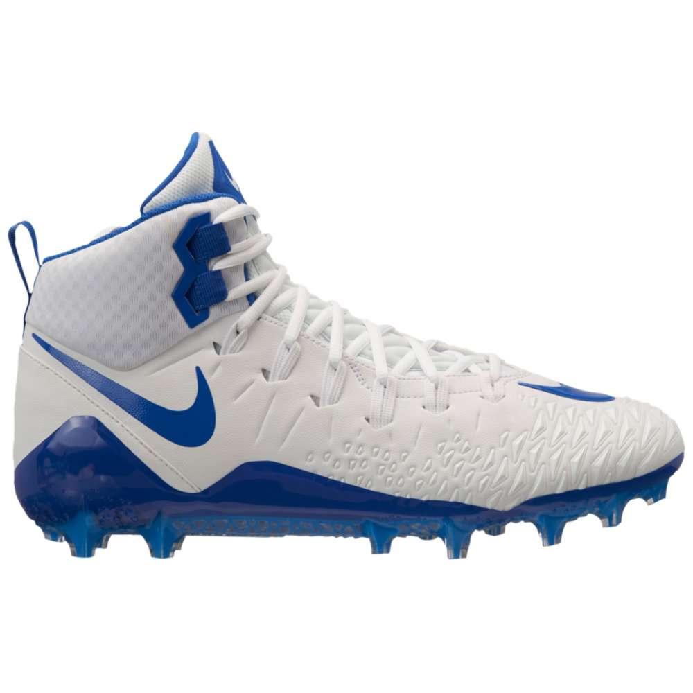 ナイキ メンズ アメリカンフットボール シューズ・靴【Force Savage Pro】White/Game Royal/Game Royal/Photo Blue