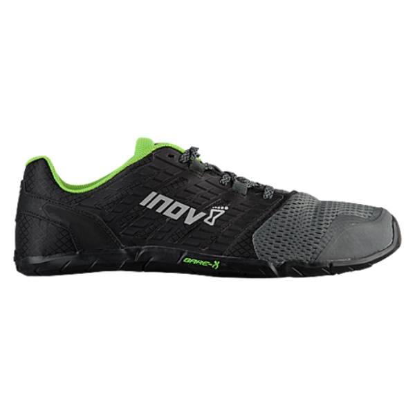 イノヴェイト メンズ フィットネス・トレーニング シューズ・靴【Bare-XF 210 V2】Grey/Black/Green