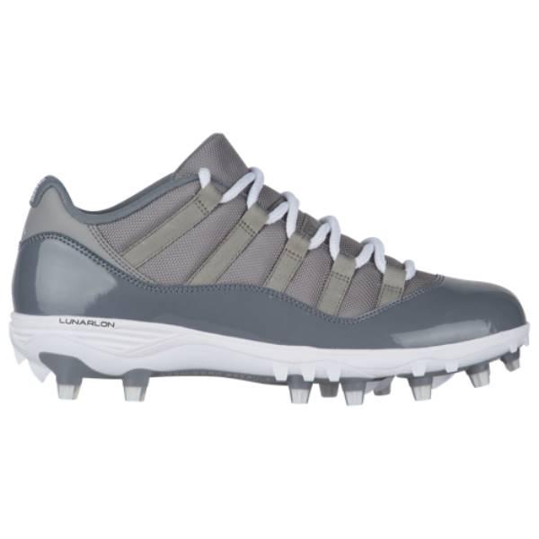 ナイキ ジョーダン メンズ アメリカンフットボール シューズ・靴【Retro 11 Low TD】Med Grey/White/Cool Grey