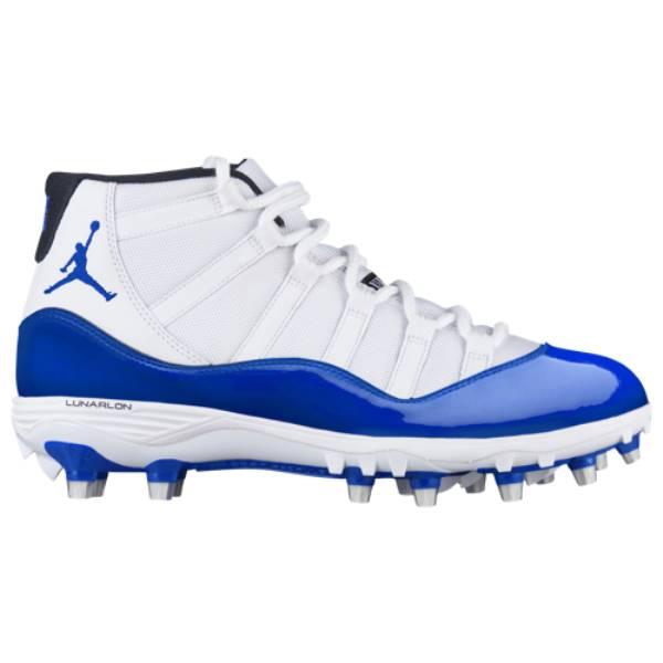 ナイキ ジョーダン メンズ アメリカンフットボール シューズ・靴【Retro 11 TD】White/Game Royal/Game Royal/Black