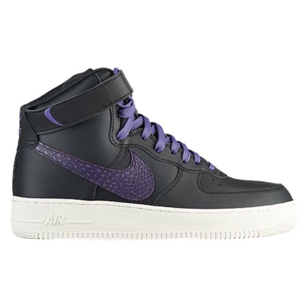 ナイキ メンズ バスケットボール シューズ・靴【Air Force 1 High LV8】Black/Grand Purple/Sail