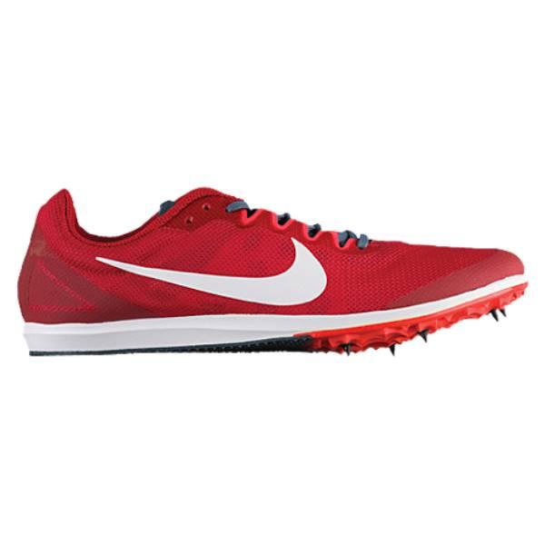 ナイキ メンズ 陸上 シューズ・靴【Zoom Rival D 10】Gym Red/White/Bright Crimson/Blue Fox