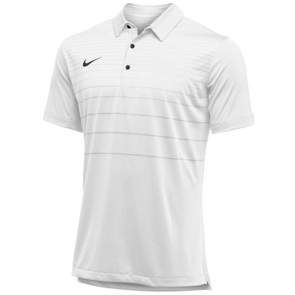 ナイキ メンズ トップス ポロシャツ【Team Early Season Polo】White/Olive/Black