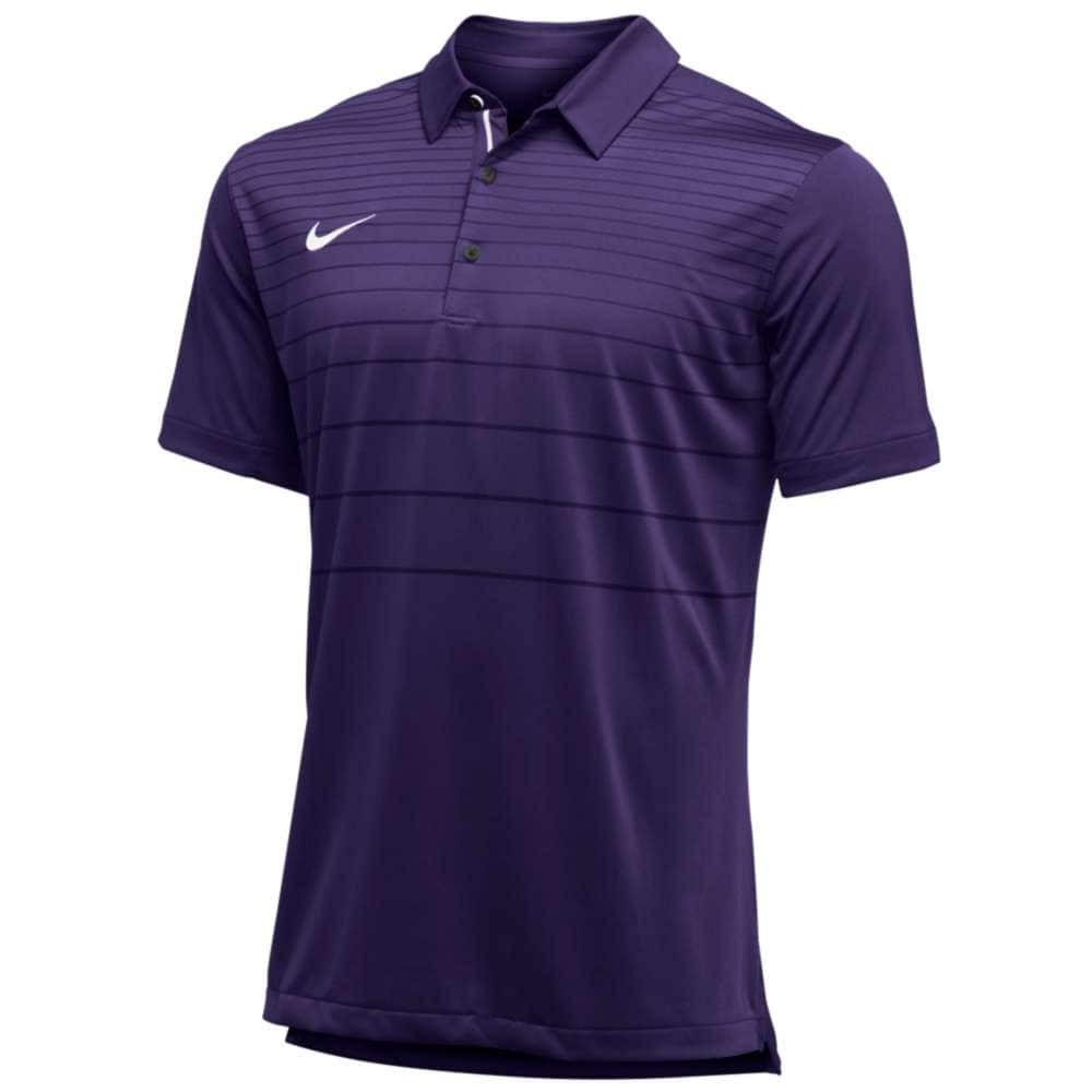 ナイキ メンズ トップス ポロシャツ【Team Early Season Polo】Court Purple/White