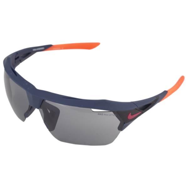 ナイキ ユニセックス スポーツサングラス【Hyperforce M Sunglasses】Obsidian/Hyper Crimson