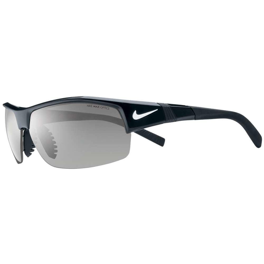 ナイキ メンズ スポーツサングラス【Show X2 Sunglasses】Black Grey/Orange Blaze