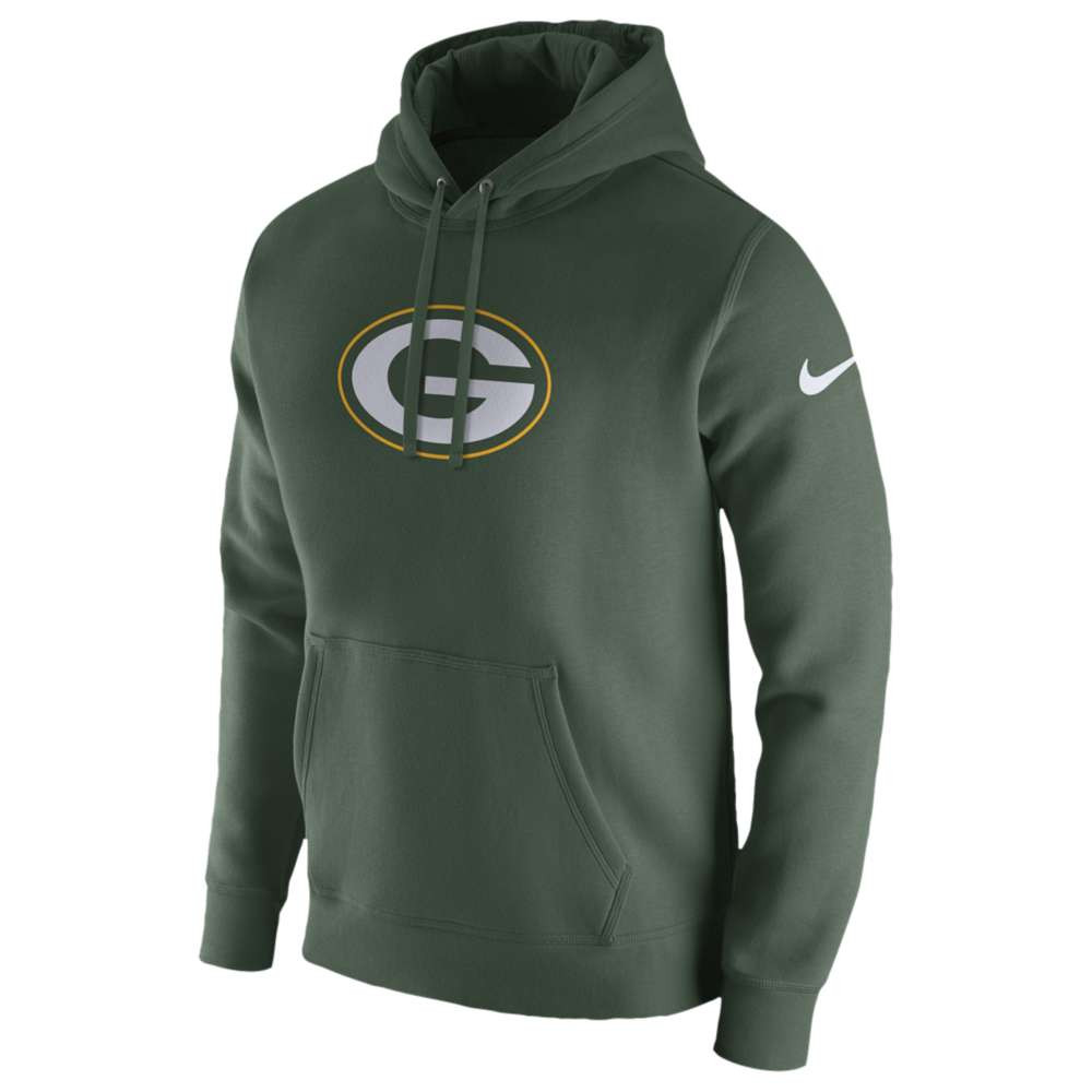 ナイキ メンズ トップス フリース【NFL Pullover Fleece Club Hoodie】Green
