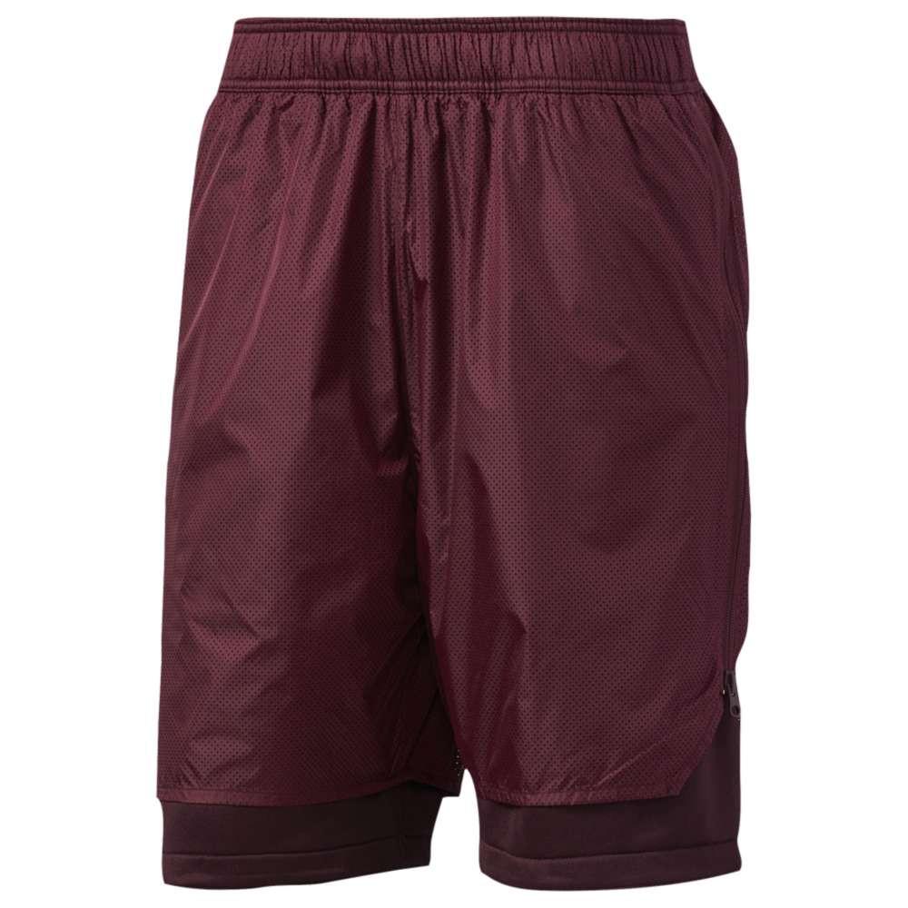 アディダス メンズ バスケットボール ボトムス・パンツ【Harden Shorts】Burgundy