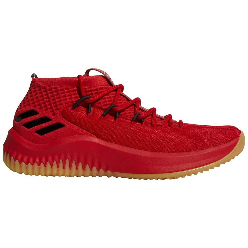 アディダス メンズ バスケットボール シューズ・靴【Dame 4】Red