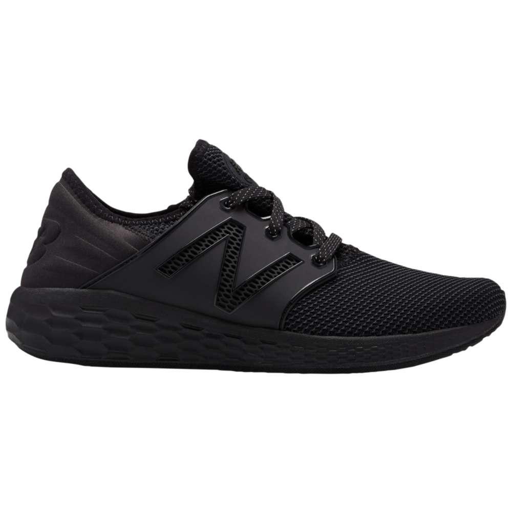 ニューバランス メンズ ランニング・ウォーキング シューズ・靴【Fresh Foam Cruz V2】Black/Black