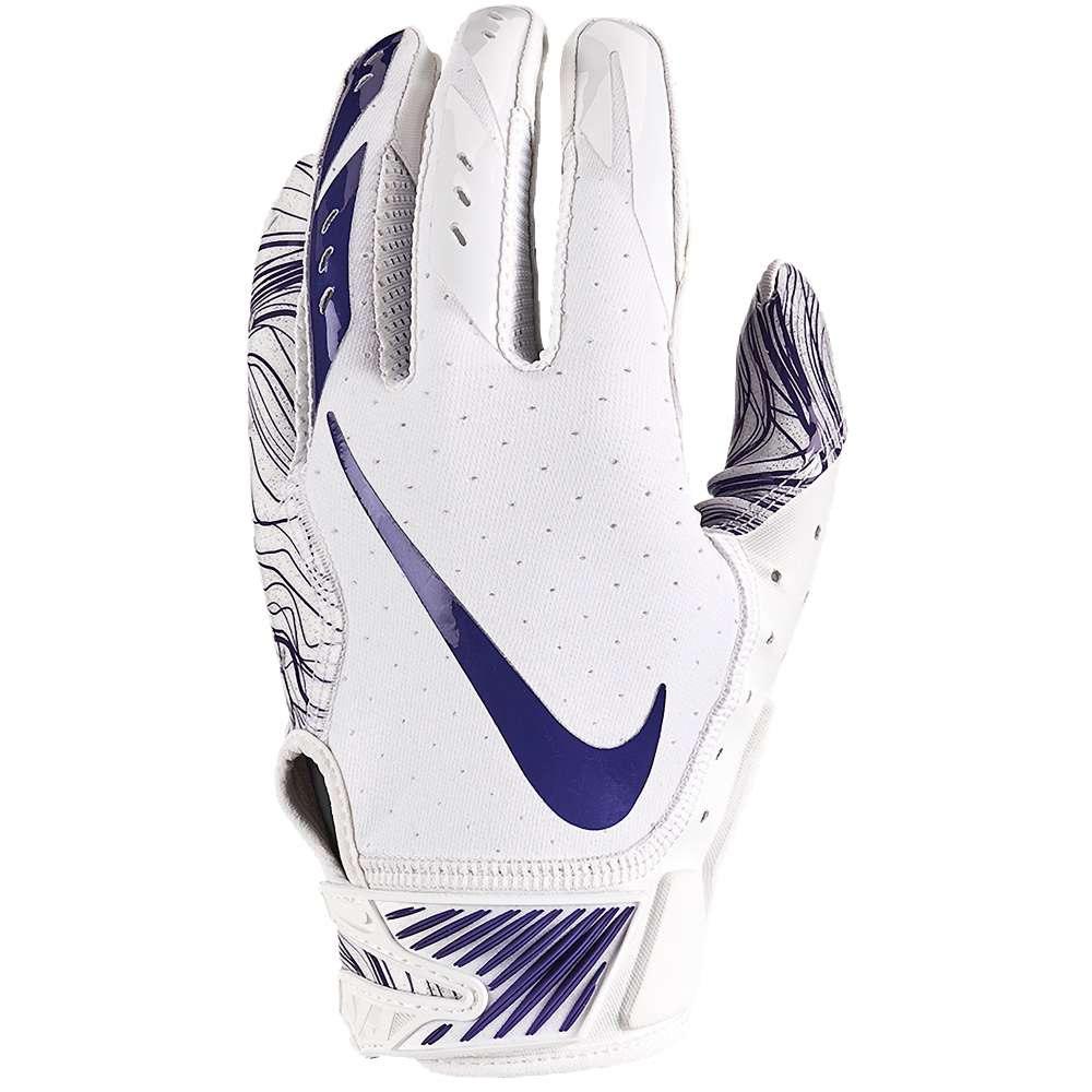 ナイキ メンズ アメリカンフットボール グローブ【Vapor Jet 5.0 Football Gloves】White/White/New Orchid