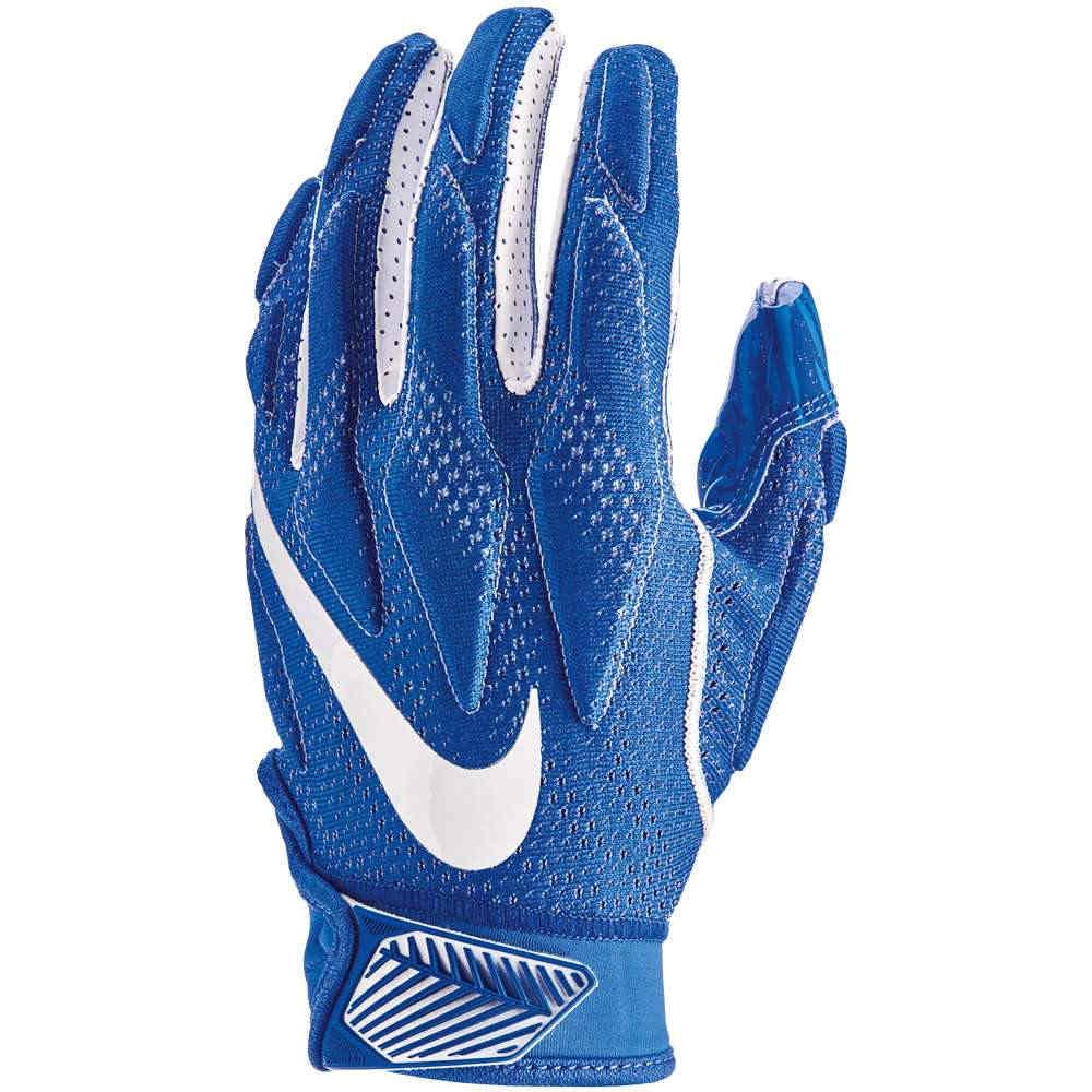 ナイキ メンズ アメリカンフットボール グローブ【Superbad 4.5 Football Gloves】Game Royal/Game Royal/White