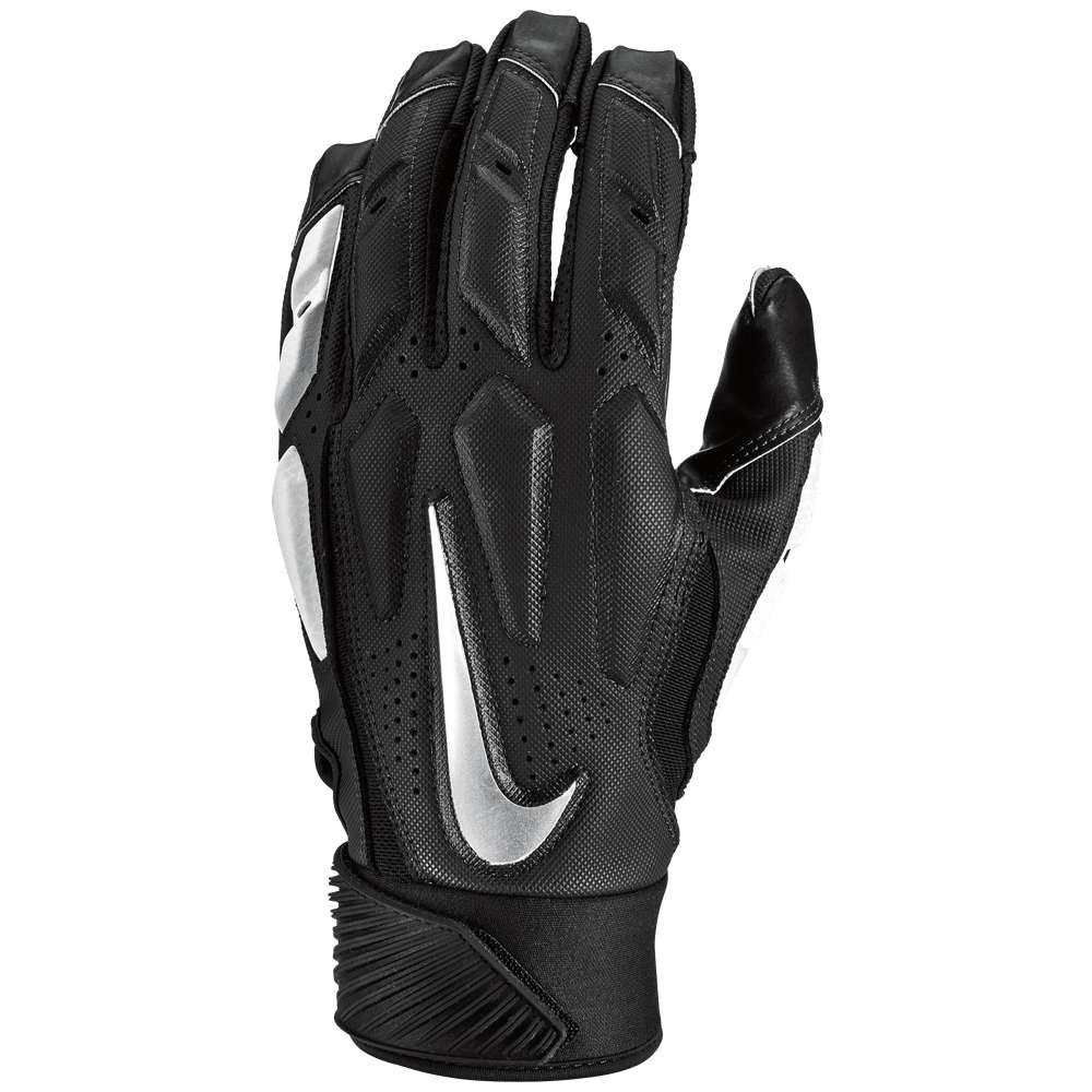ナイキ メンズ アメリカンフットボール グローブ【D-Tack 6 Lineman Gloves】Black/White/Chrome