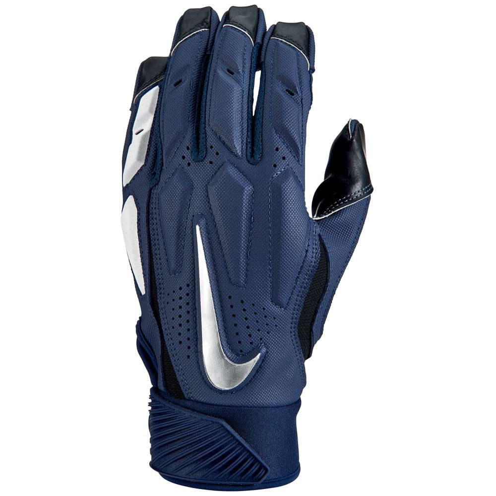 ナイキ メンズ アメリカンフットボール グローブ【D-Tack 6 Lineman Gloves】College Navy/White/Chrome
