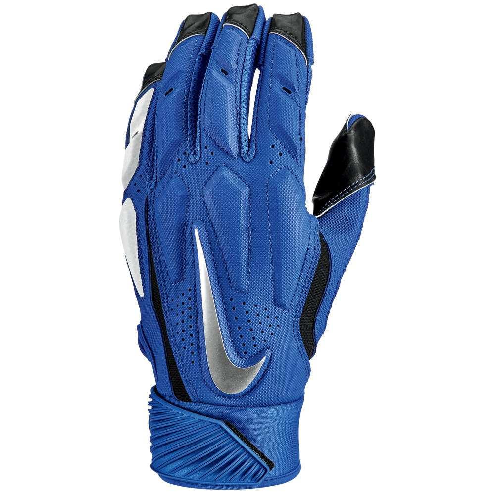 ナイキ メンズ アメリカンフットボール グローブ【D-Tack 6 Lineman Gloves】Game Royal/White/Chrome