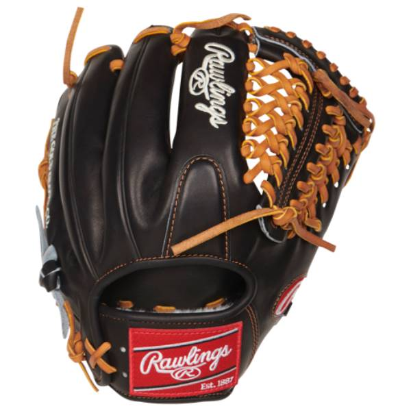 ローリングス ユニセックス 野球 グローブ【Pro Preferred PROS205 Fielder's Glove】Black/Tan