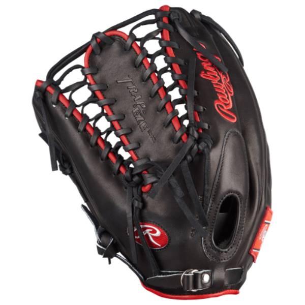 ローリングス ユニセックス 野球 グローブ【Pro Preferred PROSMT27 Fielder's Glove】Black/Red