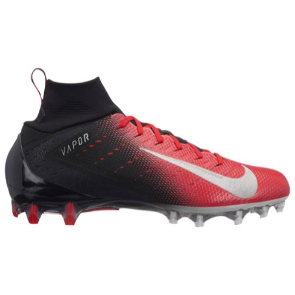 ナイキ メンズ アメリカンフットボール シューズ・靴【Vapor Untouchable Pro 3】Black/Metallic Silver/University Red/Total Crimson
