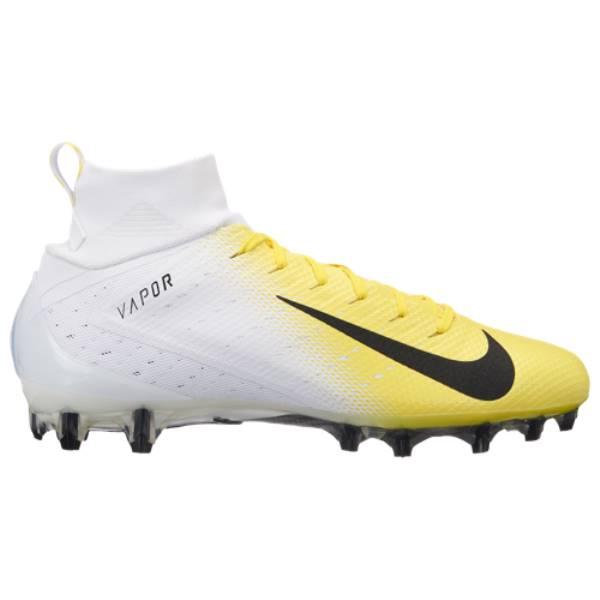 ナイキ メンズ アメリカンフットボール シューズ・靴【Vapor Untouchable Pro 3】White/Black/Dynamic Yellow/Black