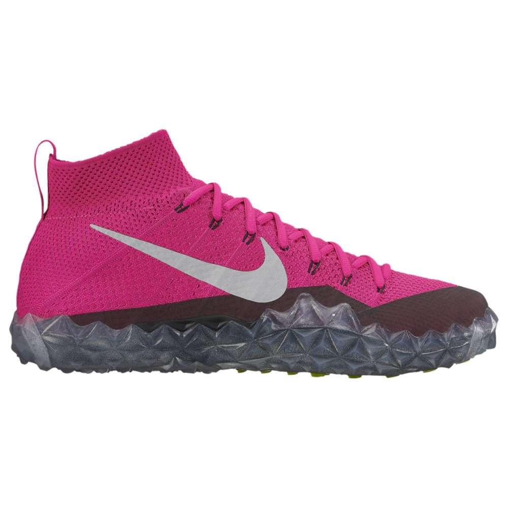 ナイキ メンズ アメリカンフットボール シューズ・靴【Alpha Sensory Turf】Pink/Black