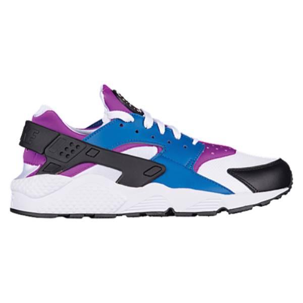 ナイキ メンズ ランニング・ウォーキング シューズ・靴【Air Huarache】Blue Jay/White/Hyper Violet/Black