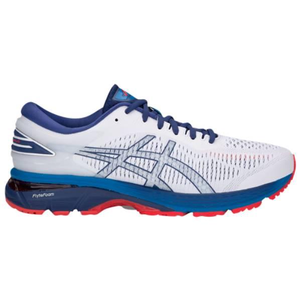 【最新入荷】 アシックス メンズ ランニング・ウォーキング 25】White/Blue Print シューズ・靴【GEL-Kayano 25】White アシックス/Blue Print, ファーストハンズ:a4e0e75f --- hortafacil.dominiotemporario.com