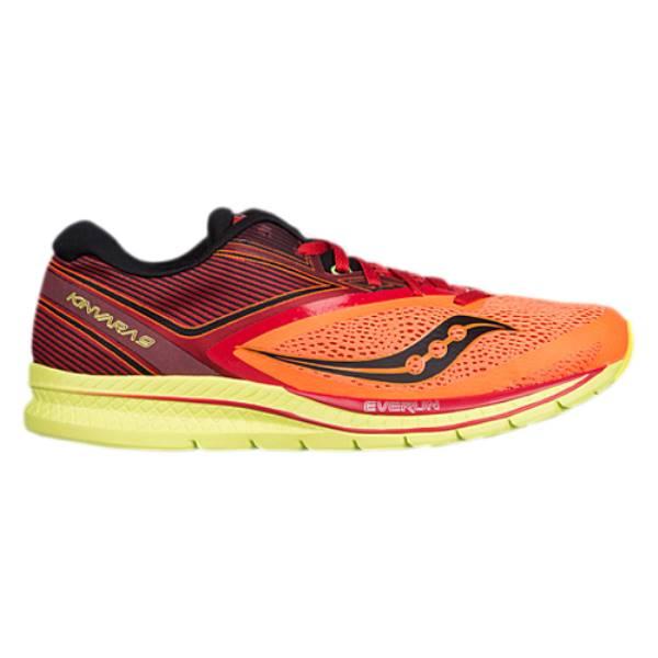 サッカニー メンズ ランニング・ウォーキング シューズ・靴【Kinvara 9】Orange/Red/Black