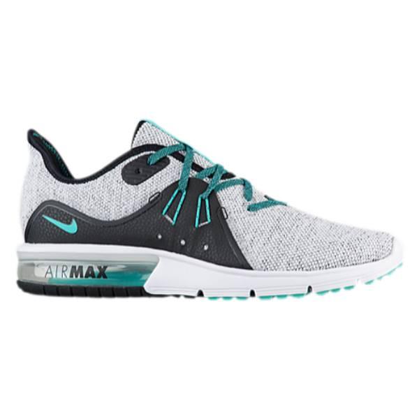 ナイキ メンズ ランニング・ウォーキング シューズ・靴【Air Max Sequent 3】White/Hyper Jade/Black