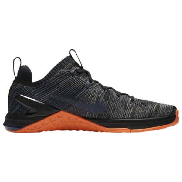 ナイキ メンズ フィットネス・トレーニング シューズ・靴【Metcon DSX Flyknit 2】Black/Thunder Blue/Hyper Crimson