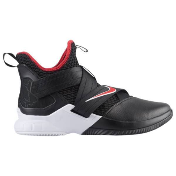 ナイキ メンズ バスケットボール シューズ・靴【LeBron Soldier XII】Black/University Red/White
