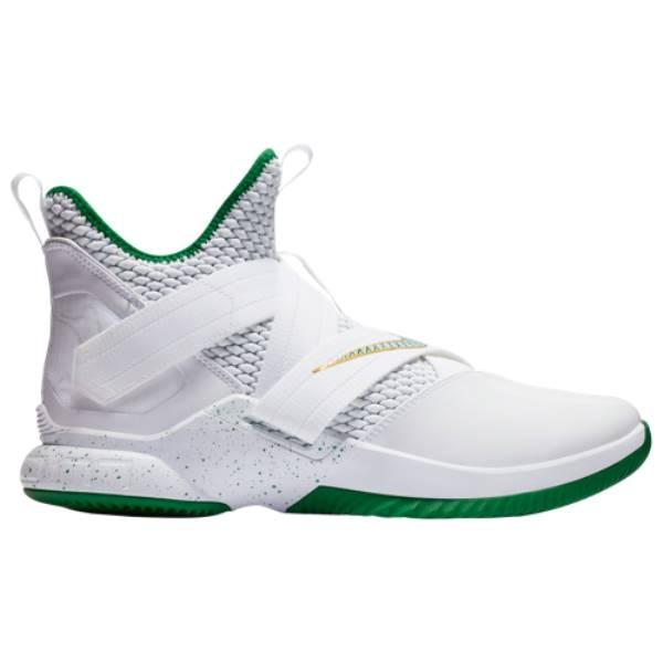 ナイキ メンズ バスケットボール シューズ・靴【LeBron Soldier XII】White/Multi