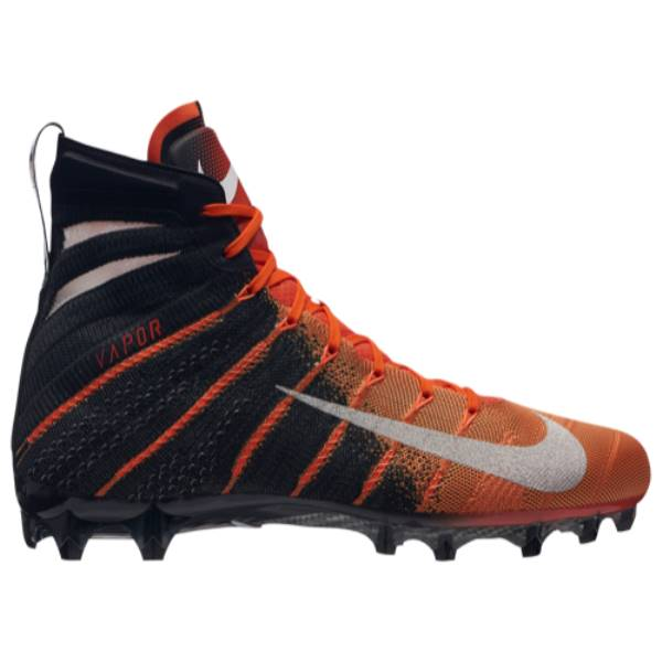 ナイキ メンズ アメリカンフットボール シューズ・靴【Vapor Untouchable 3 Elite】Black/Metallic Silver/Team Orange/Hyper Crimson