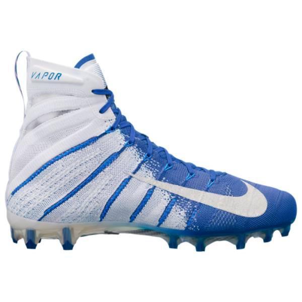 ナイキ メンズ アメリカンフットボール シューズ・靴【Vapor Untouchable 3 Elite】White/Metallic Silver/Game Royal/Photo Blue