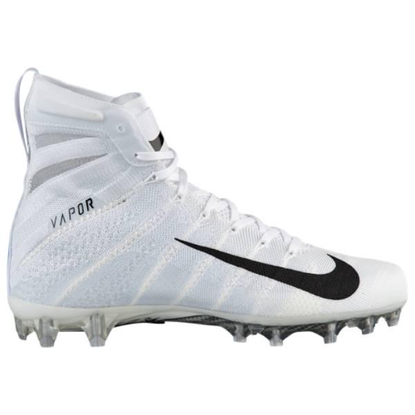 ナイキ メンズ アメリカンフットボール シューズ・靴【Vapor Untouchable 3 Elite】White/Black/Metallic Silver/White