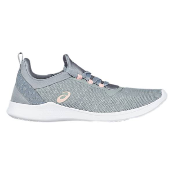 アシックス レディース フィットネス・トレーニング シューズ・靴【GEL-Fit Sana 4】Stone Grey/Frosted Rose
