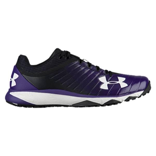 アンダーアーマー メンズ 野球 シューズ・靴【Yard Trainer】Black/Purple