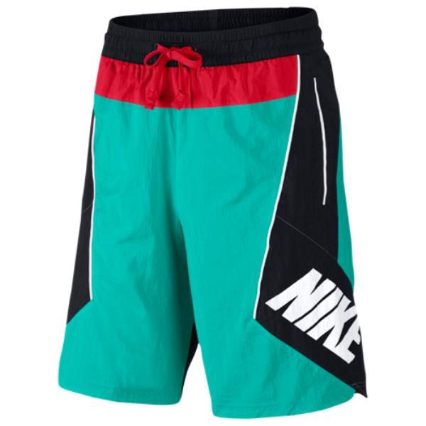 ナイキ メンズ バスケットボール ボトムス・パンツ【Throwback Shorts】New Green/Black/University Red
