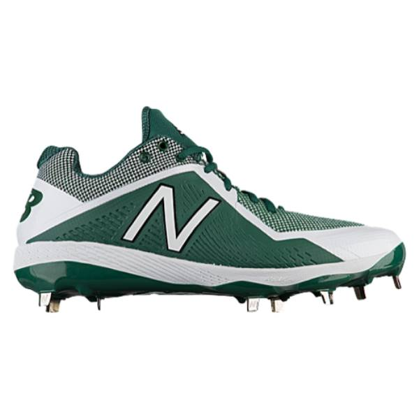 ニューバランス メンズ 野球 シューズ・靴【4040V4 Metal Low】Green/White