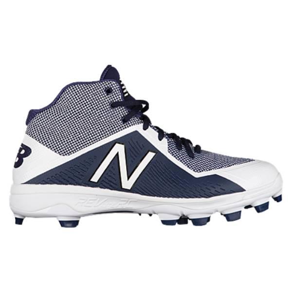 ニューバランス メンズ 野球 シューズ・靴【4040v4 TPU Mid】Navy/White