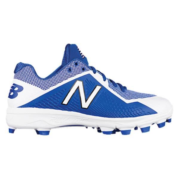 ニューバランス メンズ 野球 シューズ・靴【4040v4 TPU Low】Royal/White