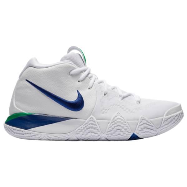 ナイキ メンズ バスケットボール シューズ・靴【Kyrie 4】White/Deep Royal